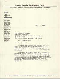 Letter from John J. Johnson to Brenda H. Cromwell, April 5, 1989
