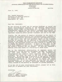 Letter from Dwight C. James to Edward Derwinski, June 15, 1990