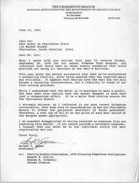 Letter from Dwight C. James to John Orr, June 15, 1990
