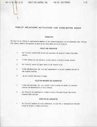 Public Relations Activities, National Association for the Advancement of Colored People, May 11, 1992