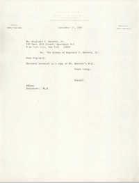 Letter from Russell Brown to Reginald C. Barrett Jr., September 27, 1983