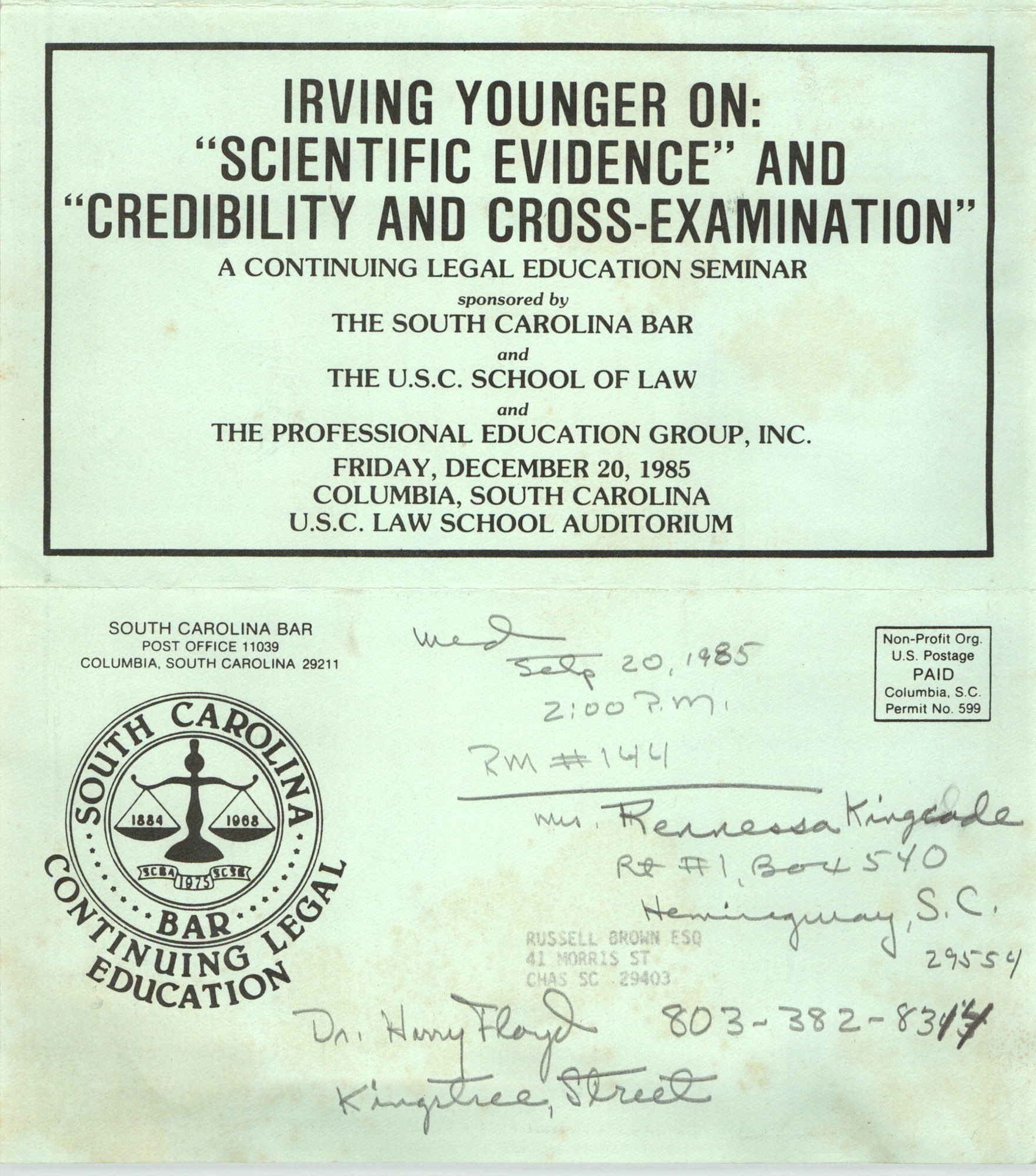 Irving Younger on
