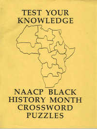 Crossword Puzzles,Test Your Knowledge: NAACP Black History Month Crossword Puzzles