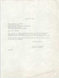 Letter from Christine O. Jackson to Virginia E. DeTurk, March 25, 1968