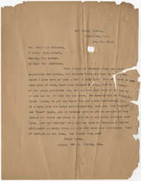 Letter from Ada C. Baytop to Robert P. Skilling, January 25, 1923