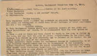 Agenda, Employment Committee, Coming Street Y.W.C.A., July 24, 1923
