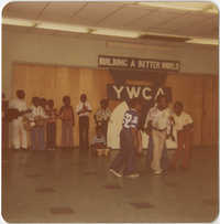Photograph of Children at Y.W.C.A. Day Camp, 1976