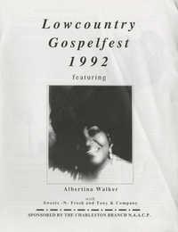 Lowcountry Gospelfest 1992