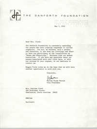 Letter from Warren Bryan Martin to Septima P. Clark, May 7, 1974