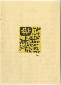 Letter from Margaret to Septima P. Clark, 1974