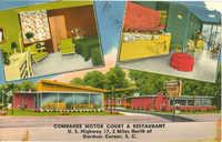 Combahee Motor Court & Restaurant. U.S. Highway 17, 2 Miles North of Gardens, S.C.