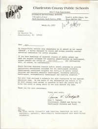 Letter from Anne V. Padgett to COBRA, March 21, 1977
