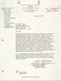 COBRA Memorandum, October 3, 1977
