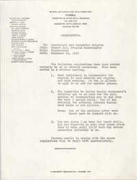 COBRA Memorandum, December 29, 1977