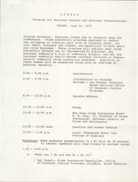 Agenda, June 22, 1979