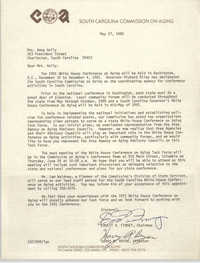 Letter from Ernest A. Finney and Harry R. Bryan to Anna D. Kelly, May 27, 1980