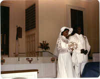 Photograph of a Wedded Couple