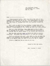 Letter from Septima P. Clark, May 21, 1976