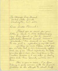 Letter from Septima P. Clark to Strom Thurmond, June 1976