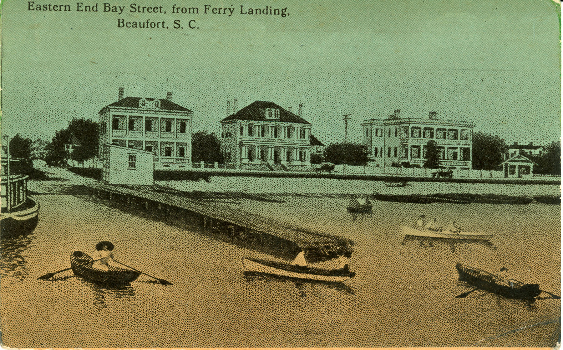 Bay Street from Ferry Landing in Beaufort