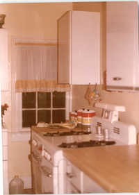 Photograph of a Kitchen