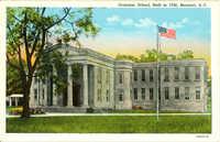 Grammar School, Built in 1795, Beaufort, South Carolina