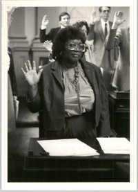 Photograph of Yvonne B. Miller