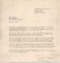 Letter from Septima P. Clark to Josephine Rider, September 23, 1966