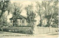 St. Helena Church, established 1712, Beaufort, South Carolina