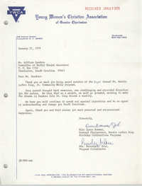 Letter from Queen Bowman and Beverly G. Rose, January 22, 1979