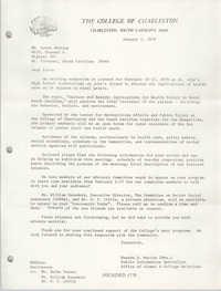 Letter from Maxine S. Martin to Karen Amrihine, January 5, 1979