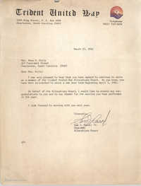Letter from Sam J. Rasor, Jr. to Anna D. Kelly, March 23, 1981
