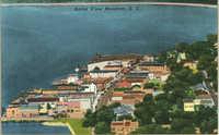 Aerial View Beaufort, South Carolina