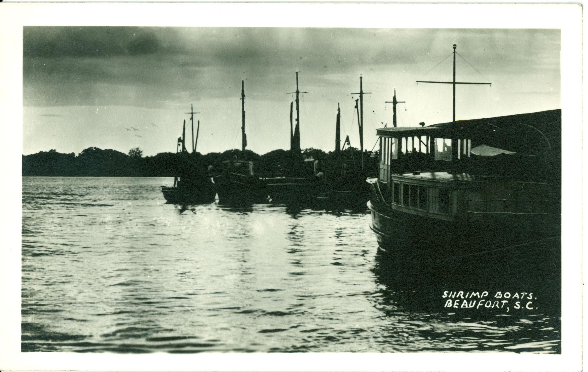 Shrimp Boats. Beaufort, S.C.