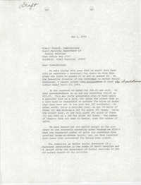 Letter from William Saunders to Virgil Conrad, May 1, 1979
