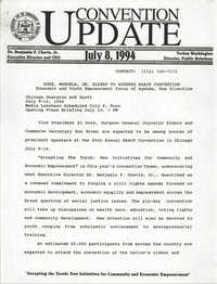 NAACP Convention Update, July 8, 1994