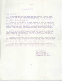 Letter from Bell Miller and Gertrude Graves to