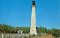 Hunting Island Lighthouse Coastal South Carolina