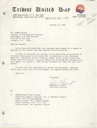 Letter from Charles W. Fruit to Thomas Barnes, October 13, 1980