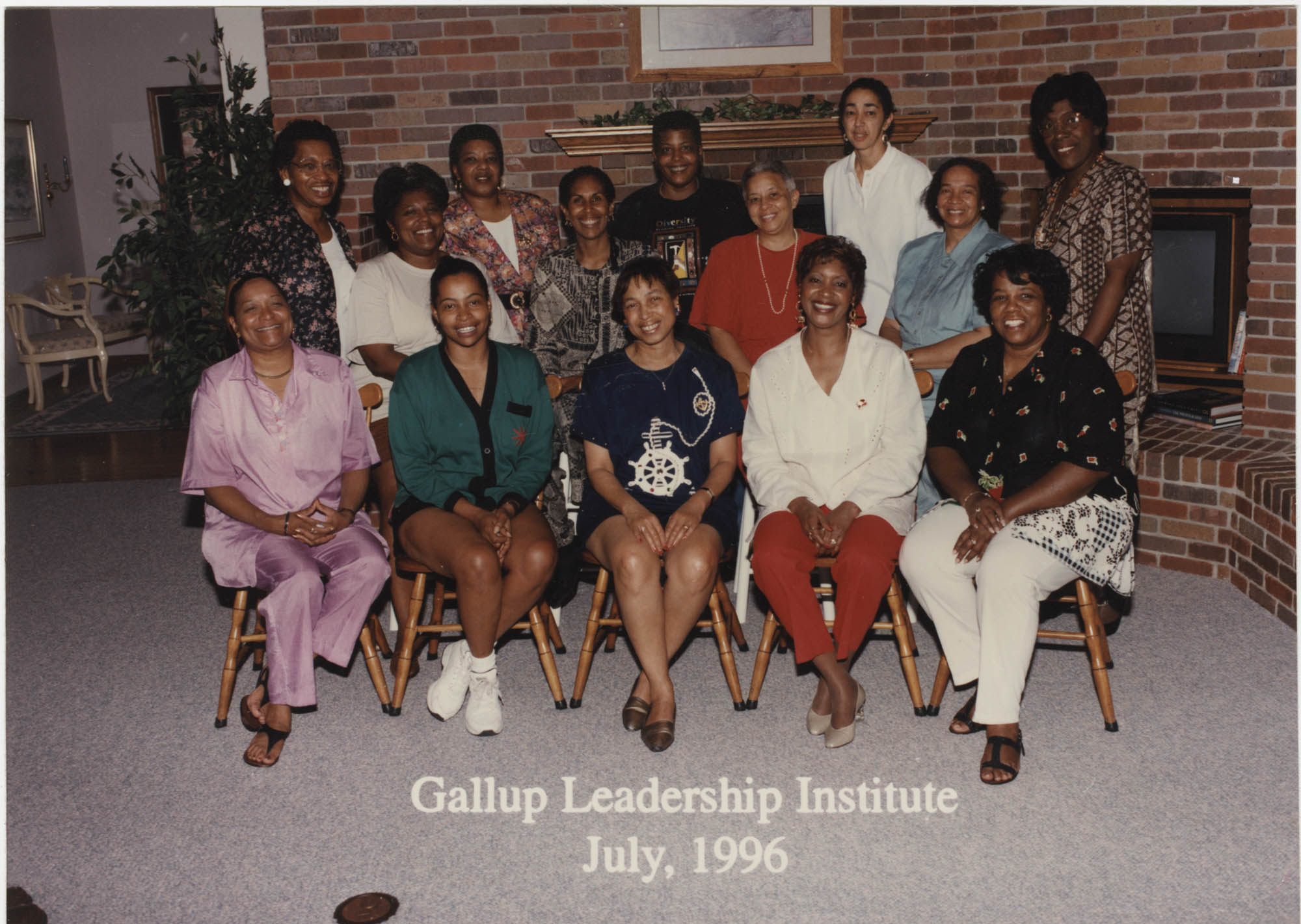 Photograph of the Gallup Leadership Institute, July 1996