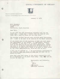 Letter from Jim Fuerst to William Saunders, January 4, 1979