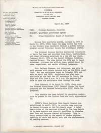 COBRA Memorandum, March 31, 1976