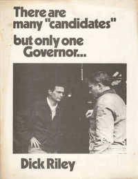 Dick Riley, Campaign Materials