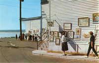 Sidewalk Art Show - Beaufort, S.C.