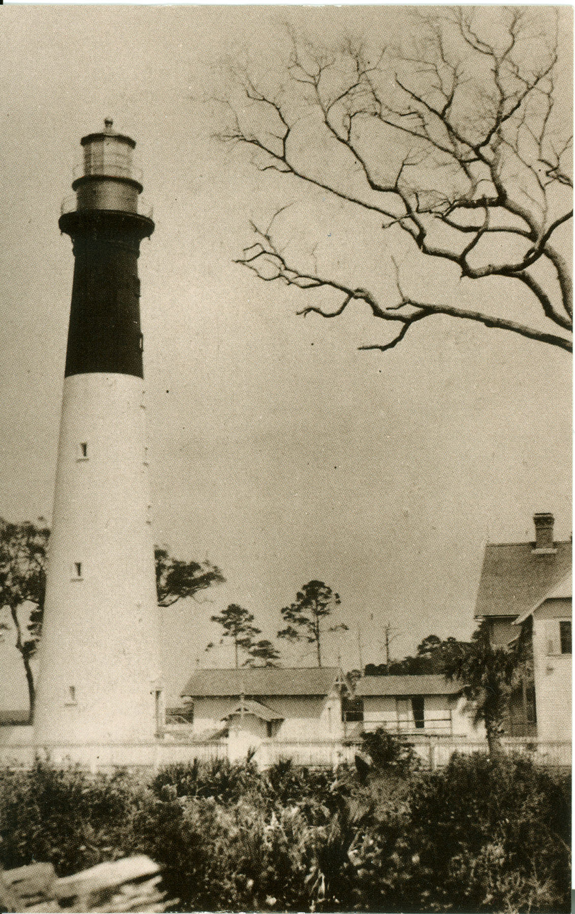 Hunting Island Lighthouse  Beaufort, SC c1890