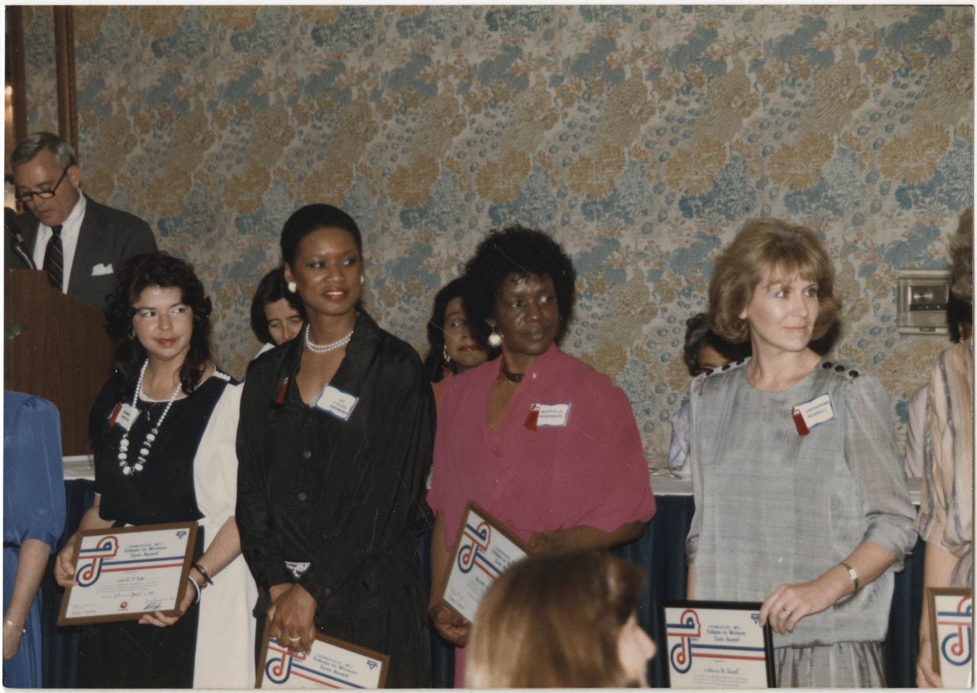Photograph of Coretta Scott King and Others