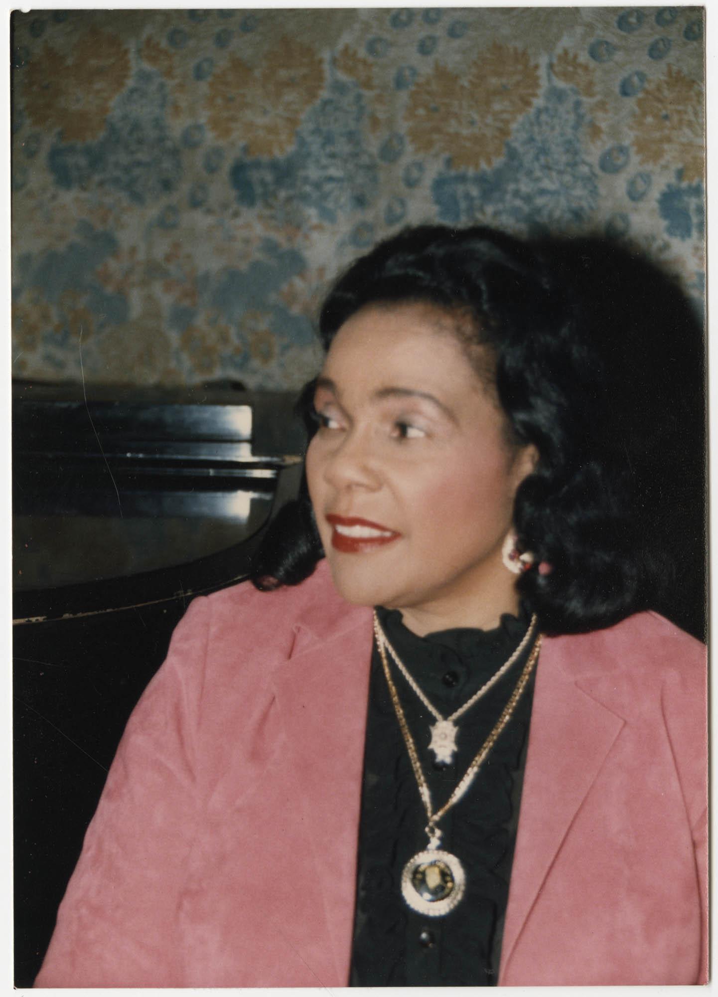 Photograph of Coretta Scott King
