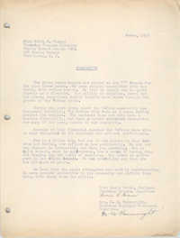 Letter from Lucia Brown and M. M. Wainwright to Edith S. Murray, March 1957