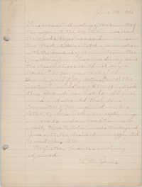 Minutes of the Committee of Management, Coming Street Y.W.C.A., June 7, 1925