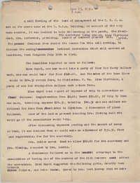Minutes to the Board of Management, Coming Street Y.W.C.A., June 23, 1930